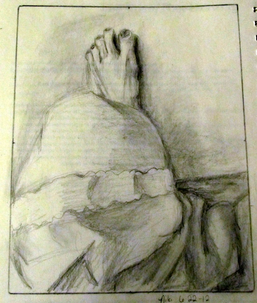 The Knee/Foot Drawing