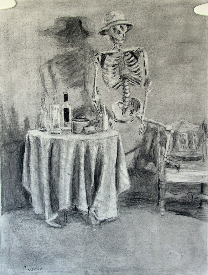 Saloon Skeleton Still Life 1