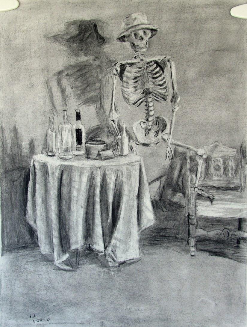 Saloon Skeleton Still Life 1