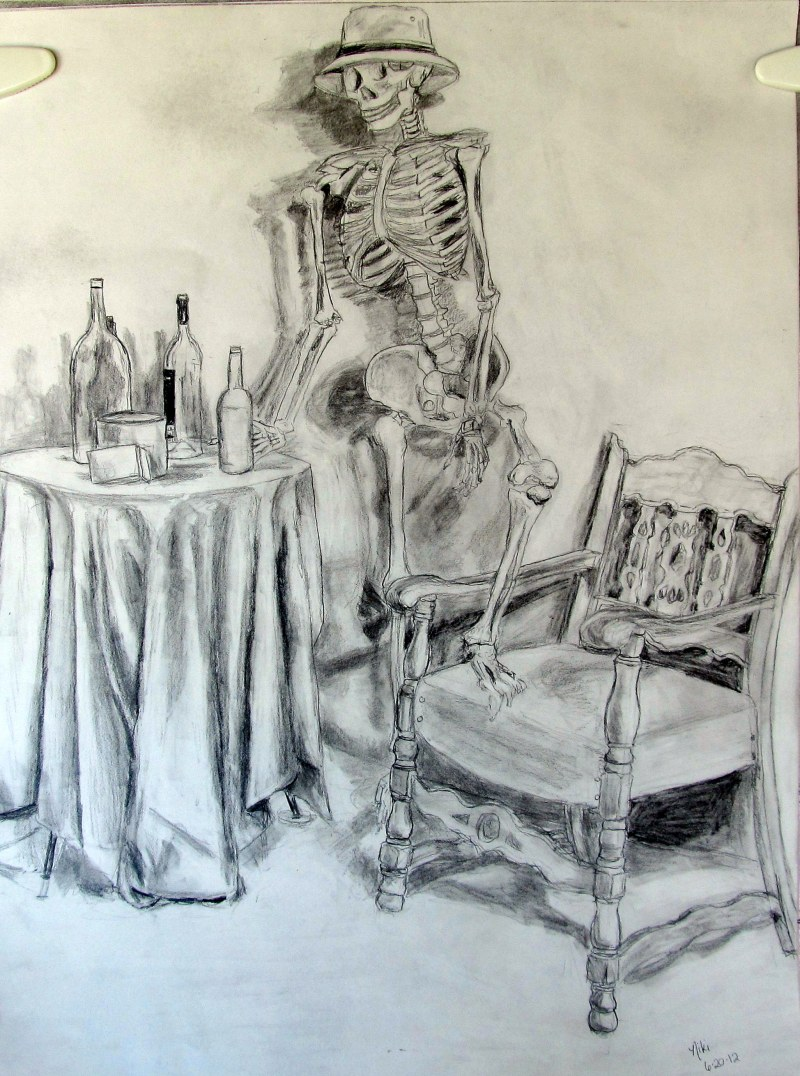 Saloon Skeleton Still Life 2