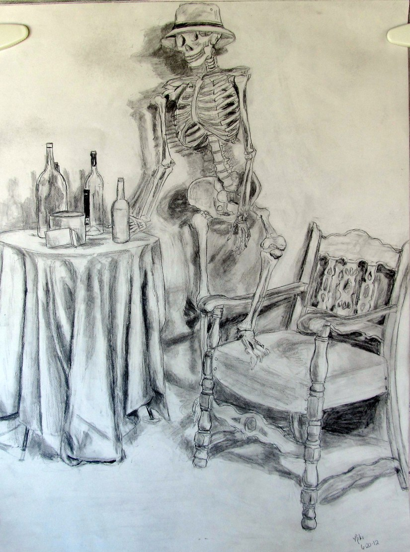 Saloon Skeleton Still Life 2