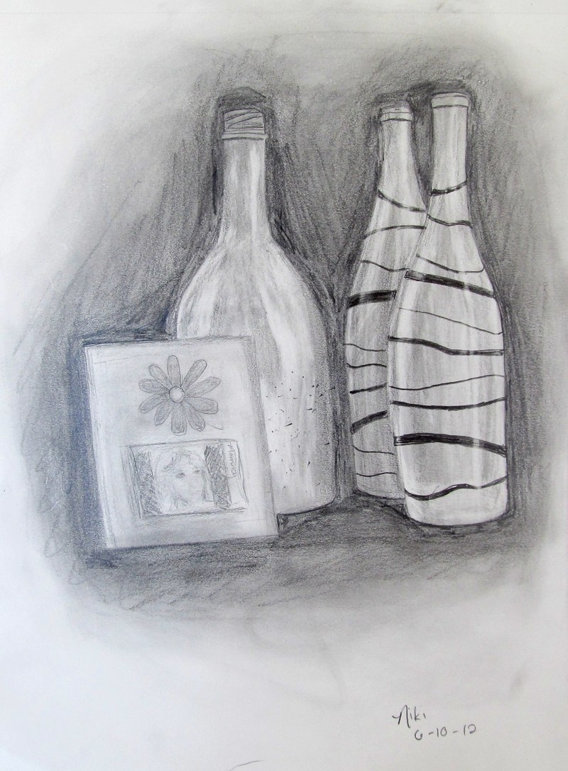 Frame and Bottles