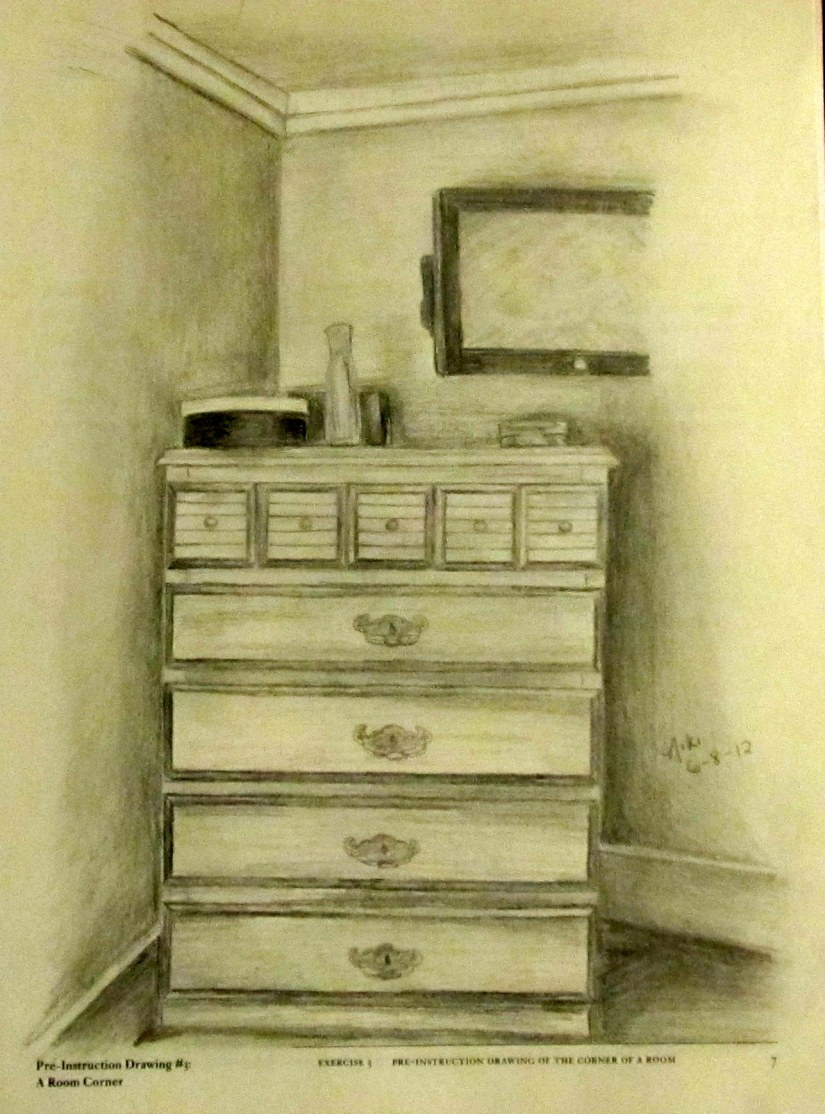 Workbook Exercise: Draw a corner of the room